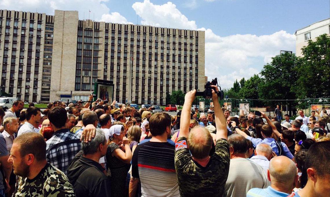 Площадь в центре Донецка назовут в честь Захарченко - Пушилин