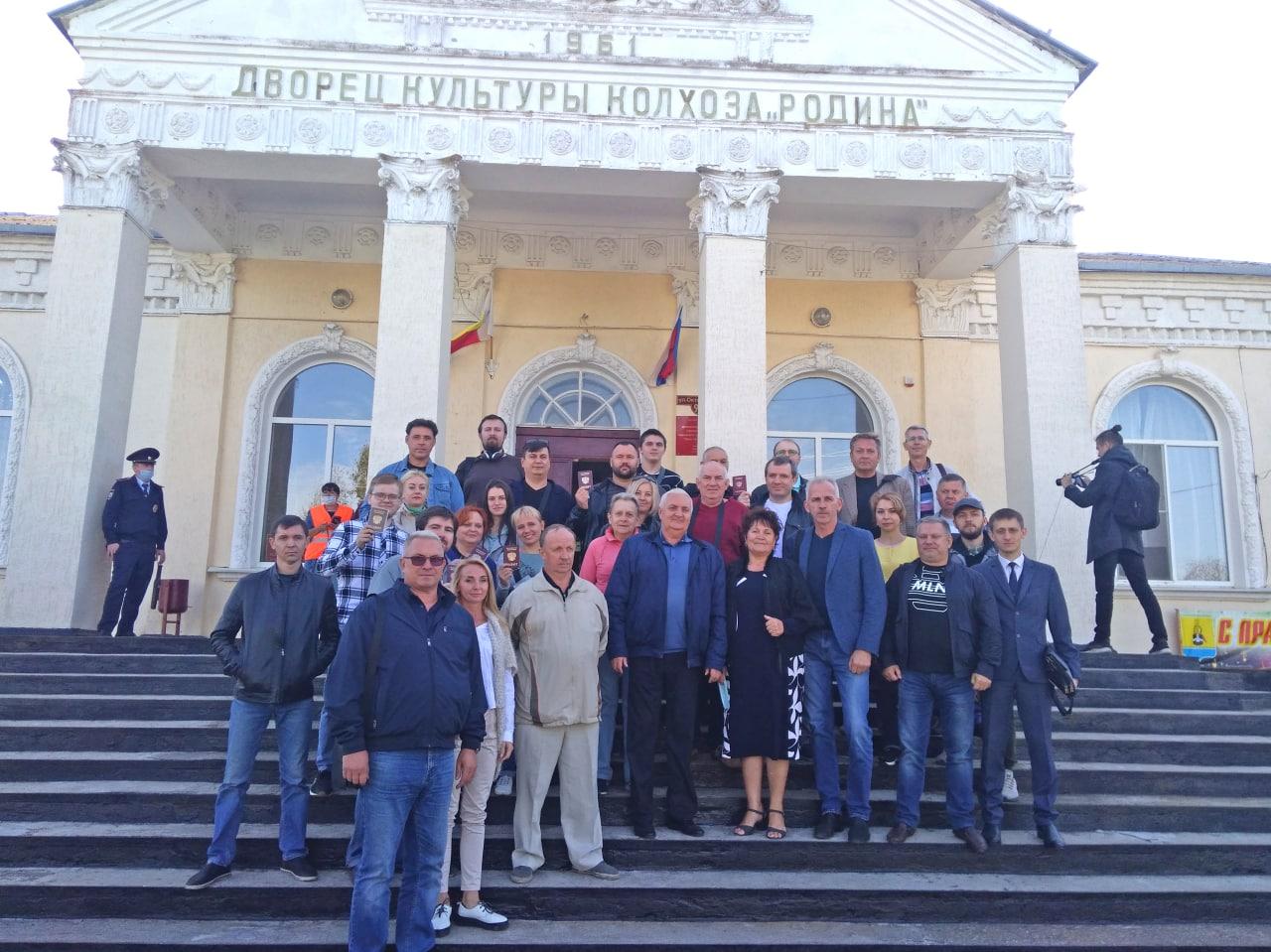 Депутаты НС ДНР проголосовали в Ростовской области