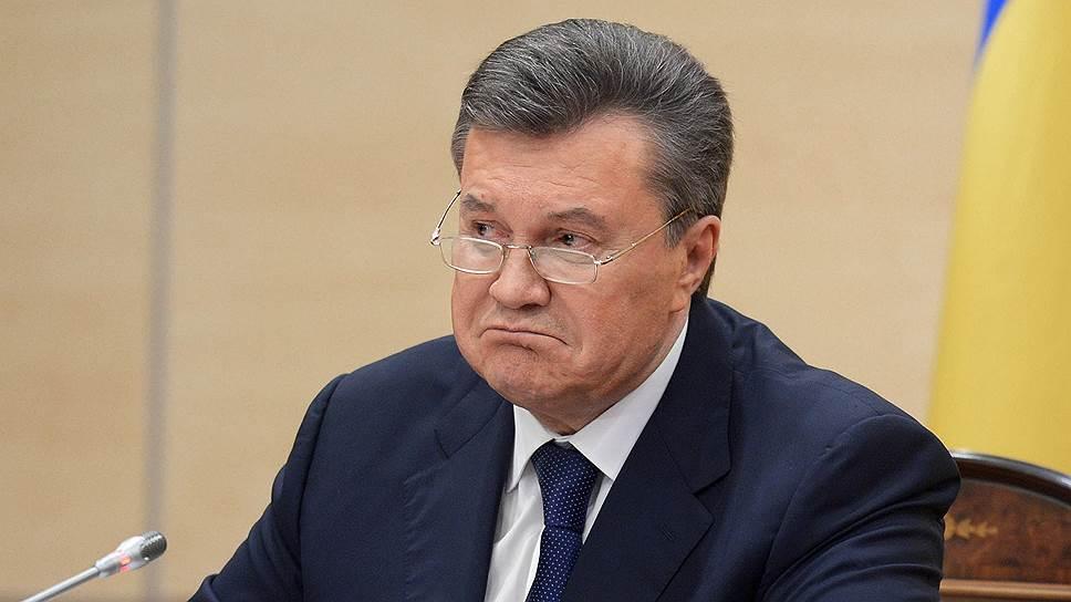 В Киеве экс-президента Украины Януковича приговорили к 13 годам тюрьмы