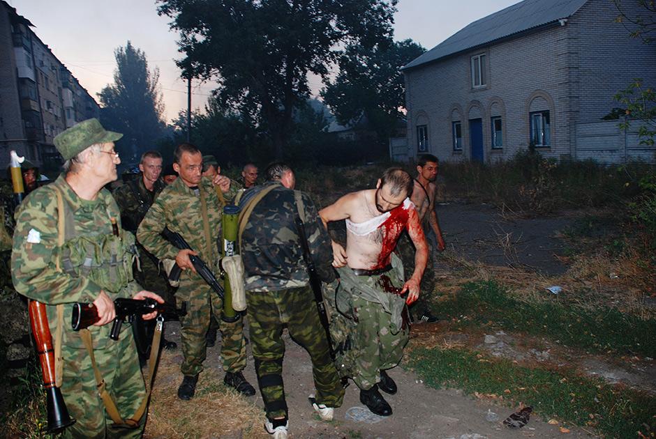 В Иловайске отметили пятую годовщину разгрома украинской армии. Видео