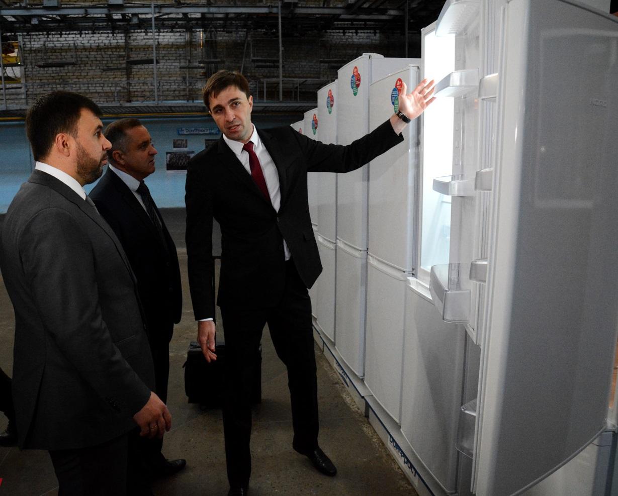 Донецкий завод холодильников более 90% продукции поставляет в Россию - директор