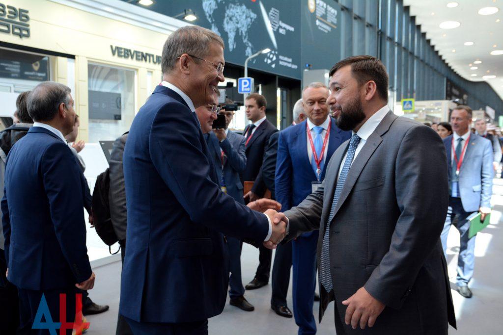 На престижном экономическом форуме в Санкт-Петербурге Денис Пушилин проведет переговоры о поставках продукции ДНР за рубеж