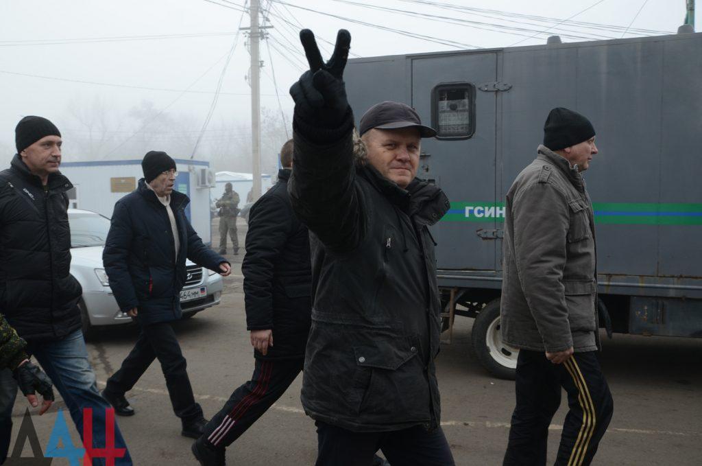 Под Горловкой состоялся обмен пленными. Участники обмена рассказали о пытках в СБУ. Фото. Видео