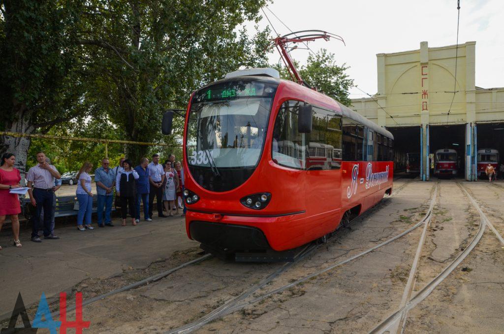 В Донецке запустили трамвай собственного производства