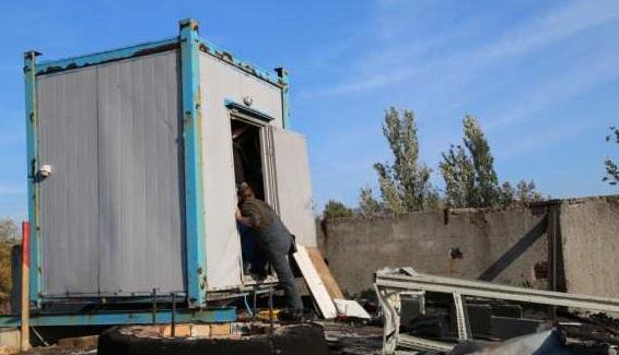 В Донецке подорвали вышку связи
