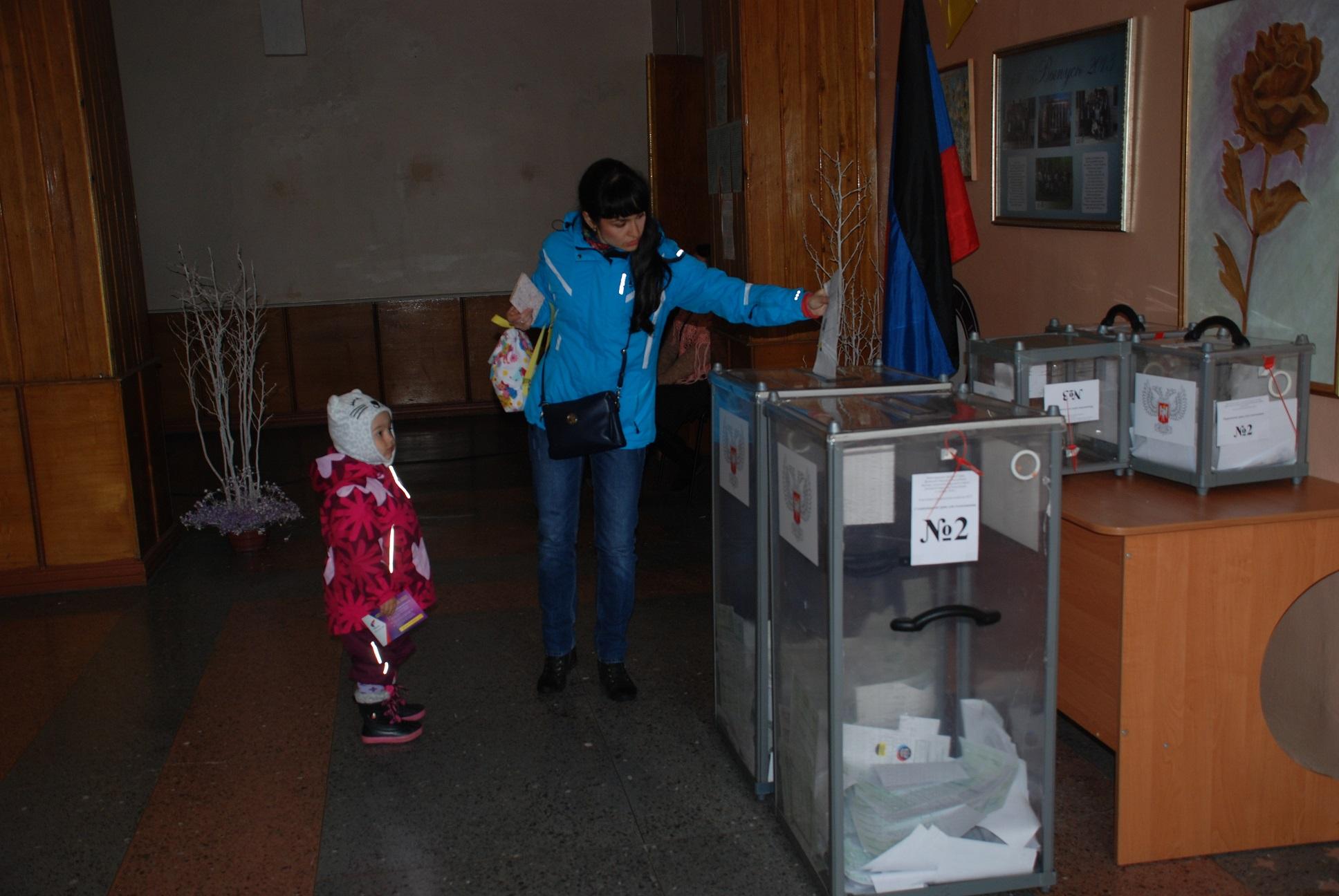 В ДНР по состоянию на 14:00 проголосовали 66 процентов избирателей - ЦИК