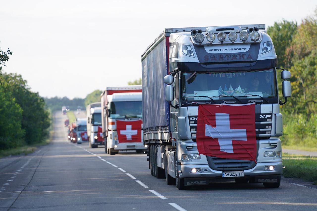 Антиген-тесты на ковид и аппараты для вентиляции легких. Швейцария отправила в ДНР крупнейшую партию гумпомощи
