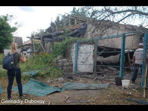 ВСУ продолжают обстреливать жителей окраин ДНР. Видео