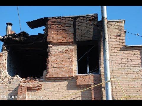 ВСУ обстреливает дома жителей Ясиноватой противотанковыми ракетами