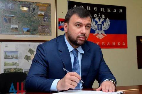Пушилин закрепил порядок и принципы работы сайта Главы Республики