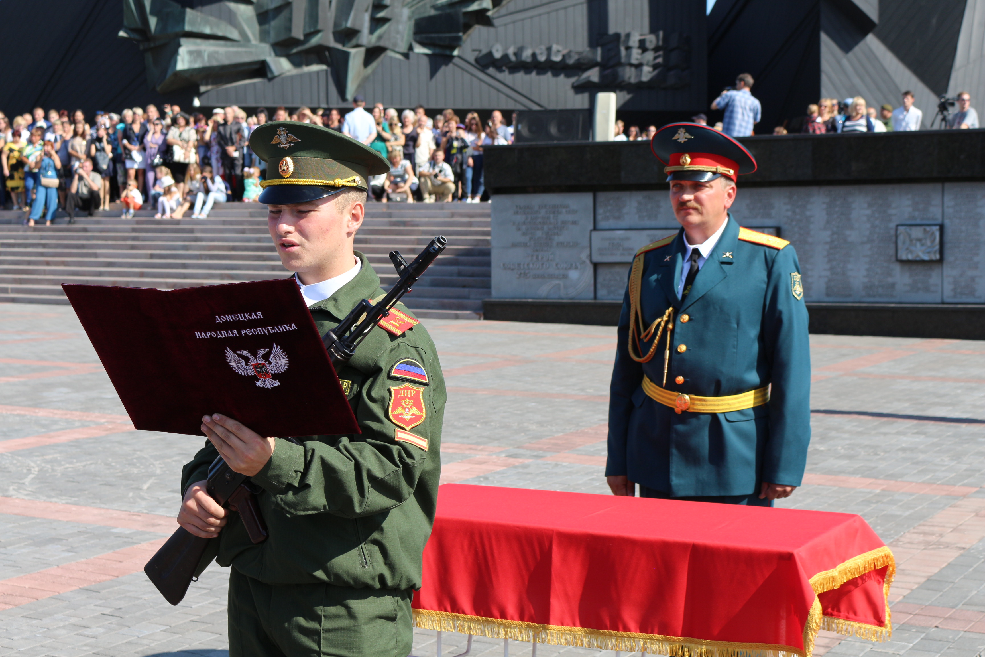 ДонВОКУ будет готовить офицеров для ДНР и ЛНР - Пушилин
