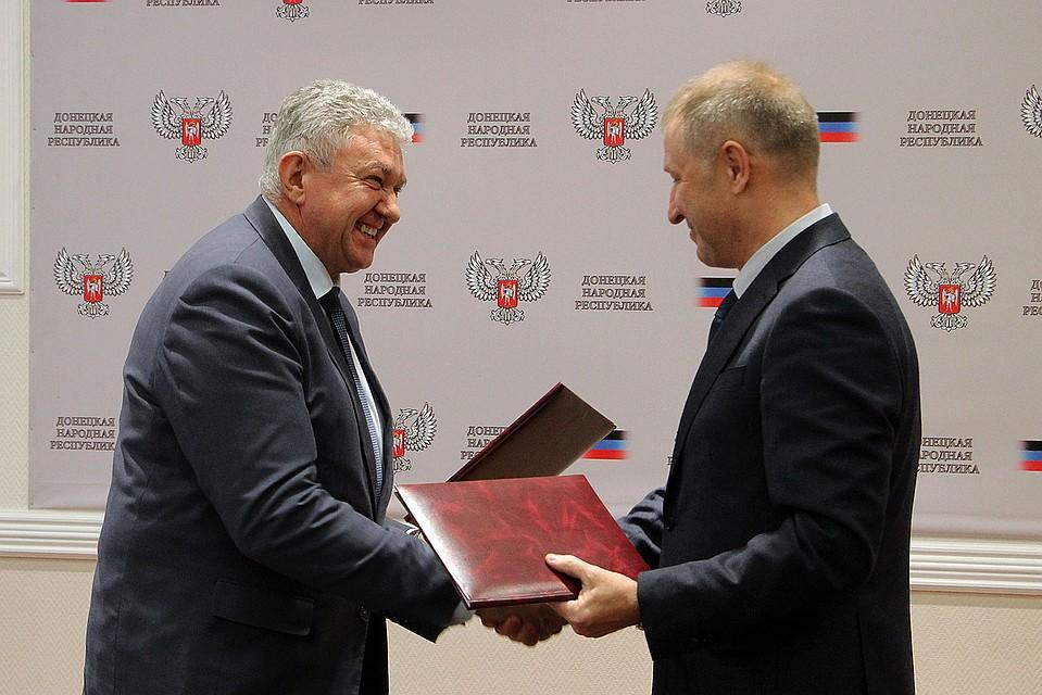 Парламент ДНР назначил главой правительста Александра Ананченко