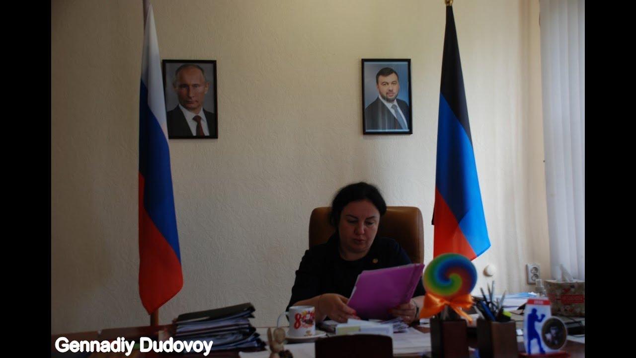Единственная градоначальница в ДНР, Виктория Жукова: