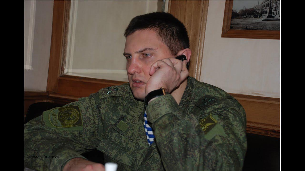 Боец армии ДНР: