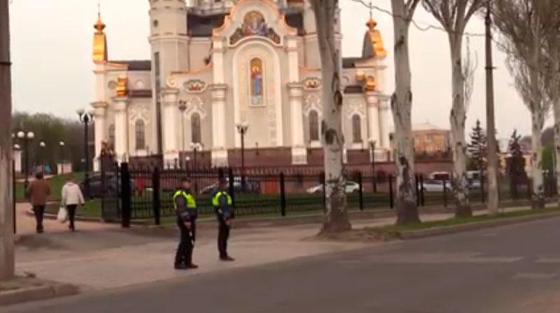 В МВД насчитали 80 тысяч жителей ДНР, которые пришли в церковь на Пасху