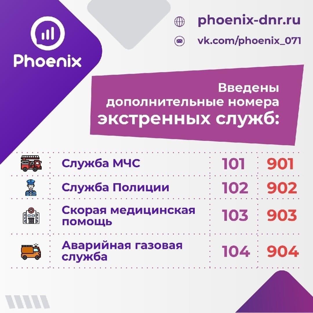 В ДНР ввели дополнительные номера экстренных служб