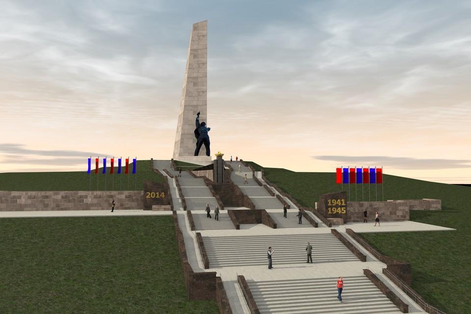 В ДНР утвердили проект реконструкции Саур-Могилы, Россия готова поддержать