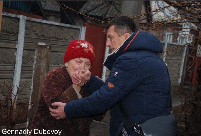 Прифронтовая зона Донбасса. Жизнь обездоленных