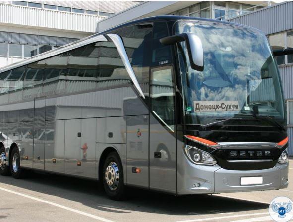 Из Донецка пустили рейсовый автобус в столицу Абхазии