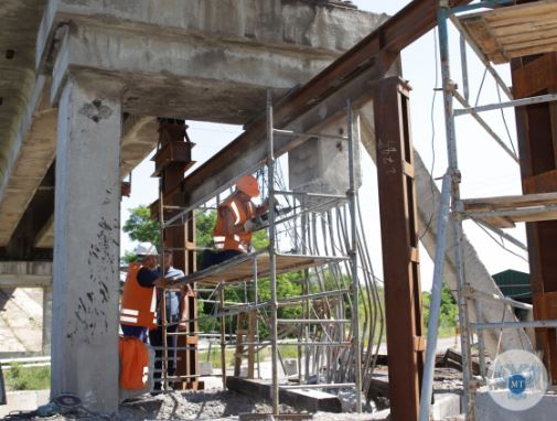 В Республике отремонтировали ж/д мост через Донецкую объездную