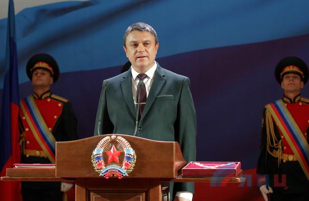 Пасечник официально стал главой ЛНР