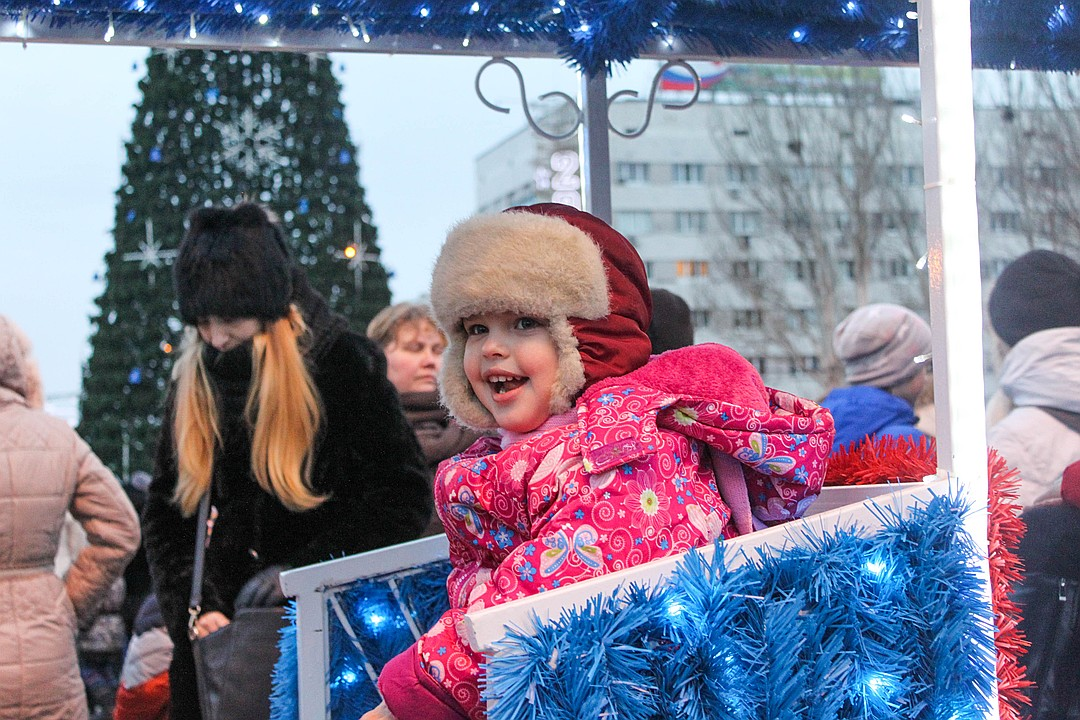 Появилась программа Рождественских гуляний в Донецке