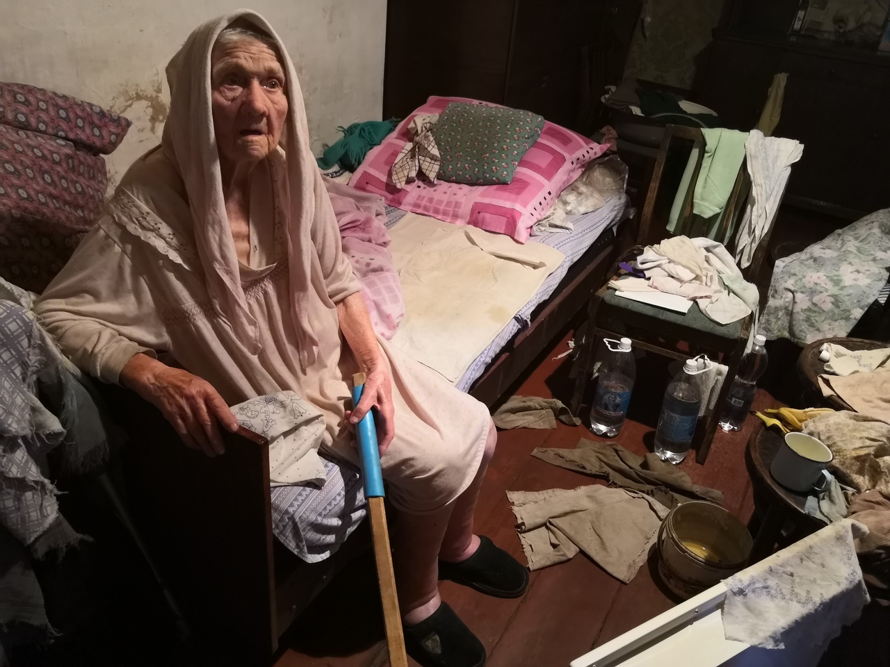 Чиновники боятся правды. История с 95-летней участницей войны в Донецке получила продолжение
